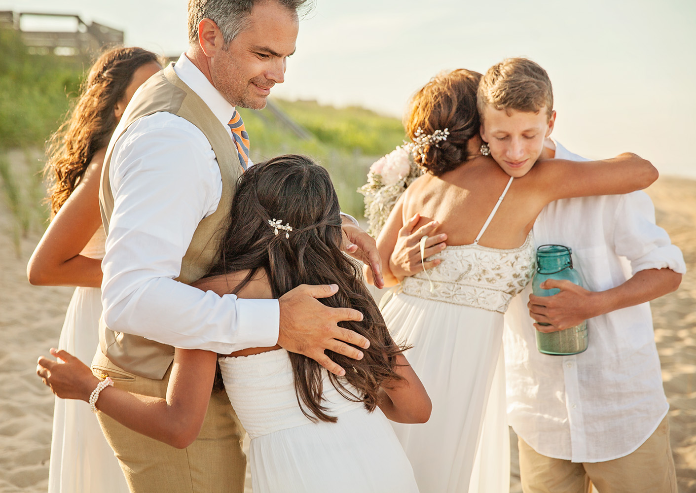 Sanderling seaside wedding on the Outer Banks of NC